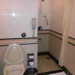 Standard room bathroom, shower