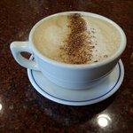 由一杯good latte 開始,老板很親切。