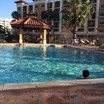 Small quiet pool