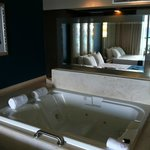 Hot Tub in the rooms
