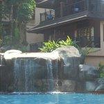 Merlin Khoa Lak Main Pool with Swim Up Room above Waterfall