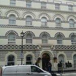 Lovely facia to hotel