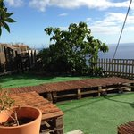 the outside chillout area, perfect for sunset beers :)