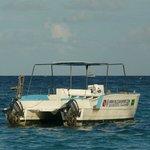 un bateau du club