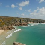 Our favourite beach...Porth Curno.
