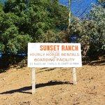 Le Sunset ranch, pas loin (en voiture)