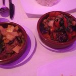 Emperor beef and Seabass
