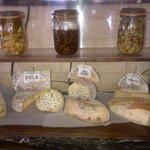 Nos fromages du Piémont.