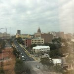 View of the Texas Capitol from my room