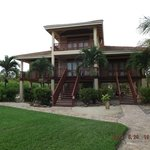 The villa we stayed in