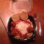 Spaghetti and Meatballs to go