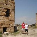 Ruins of Hierapolis in Turkey