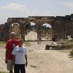 Hierapolis' main street in Turkey