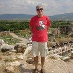 Ruins of Greek city of Aphrodisias in Turkey