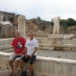 The ruins of the Aphrodite temple in Aphrodisias