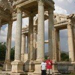Another aspect of Tetrapylon Gate in Aphrodisias