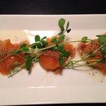 Ginger citrus seared salmon