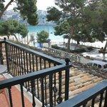 "Balcony - 1st floor with ""sea view"""