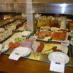 desayuno parte buffet parte carta (privilege)