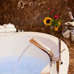 Relax in luxury - porch suite massage tubs