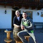 Mirko e il proprietario Federico.