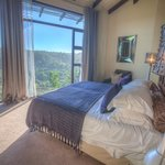 the view from one of the treetop villas