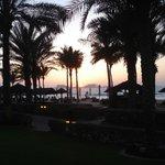 Unforgettable sunset at Dar Al Masyaf at Madinat Jumeirah beach in Dubai