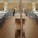 inside hotel lobby area upstairs