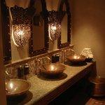 The luxury of public toilets at Madinat Jumeirah Resort in Dubai
