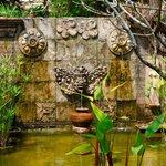 Resort's garden
