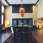 Lobby/breakfast room area.