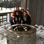 Staying warm on a Winter Wine Tour!