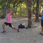 A bit of fun on the Beach In Costa rica