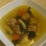 wedding soup (always gluten free)