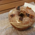 The Maple Bourbon Donut with Candied Bacon