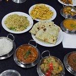 Main meal at Three Kings