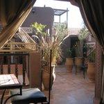 Roof terrace, breakfast in the sunshine