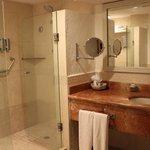 Huge Bathroom with a nice big shower!