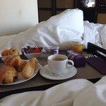 Petit déjeuner en chambre