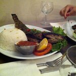 Capitaine + riz et une sauce