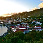 Charlotte Amalie from the other wing of the hotel.