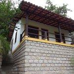 Outra cabana no caminha para a Lagoa da Conceição.