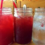 Yummy Drinks in Mason Jars