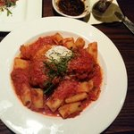 Rigatoni with Veal Meatballs