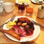 All u can eat breakfast in brunch time