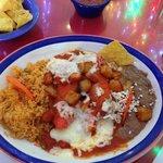 Enchiladas Nortenas