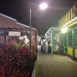 Agave restaurant at night