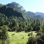 Campground below Refugio Cochamo