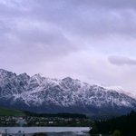 Fresh snow on the Remarkables