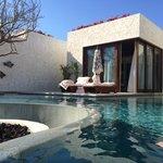 luxury beachfront villa! view of master bedroom